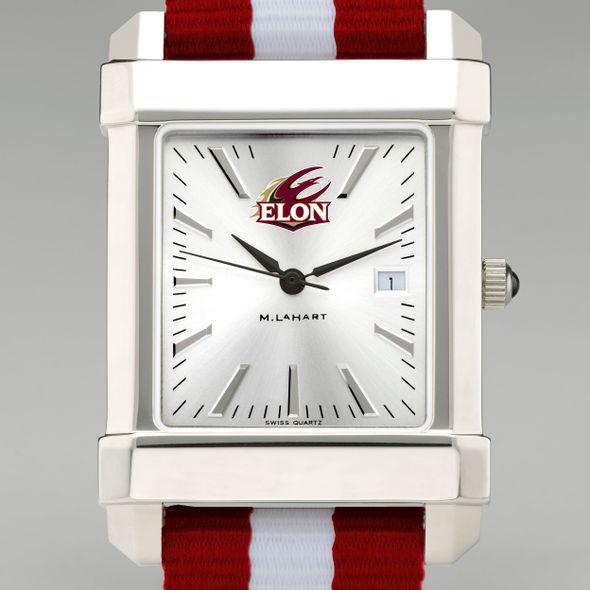 Elon Collegiate Watch with NATO Strap for Men