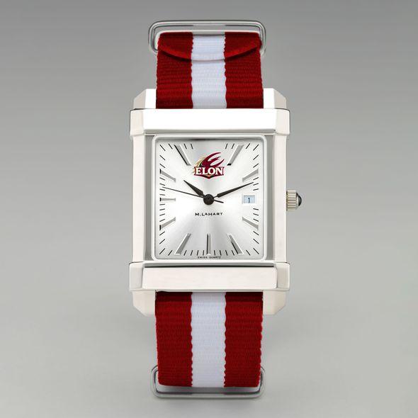 Elon Collegiate Watch with NATO Strap for Men - Image 2