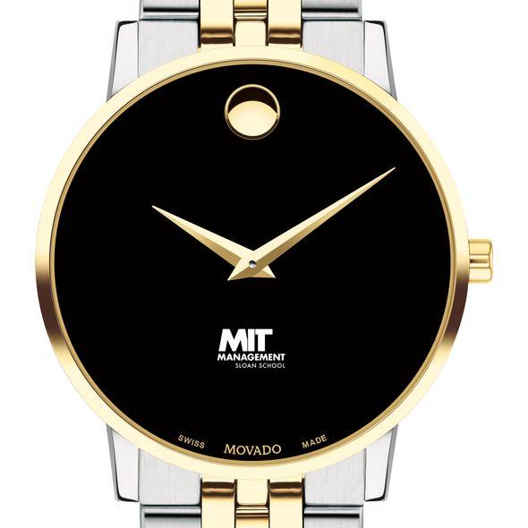 MIT Sloan Men's Movado Two-Tone Museum Classic Bracelet - Image 1