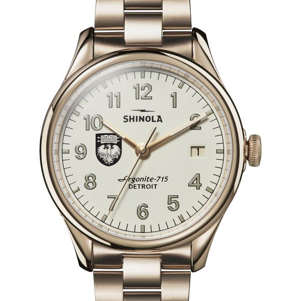 Chicago Shinola Watch, The Vinton 38mm Ivory Dial - Image 1