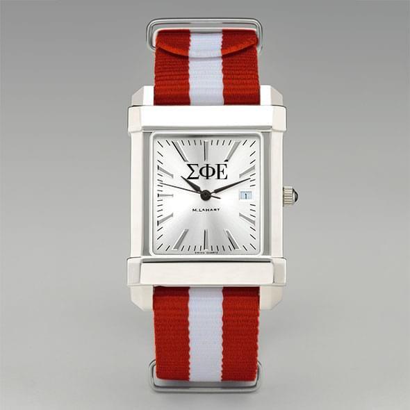 Sigma Phi Epsilon Men's Collegiate Watch w/ NATO Strap - Image 2