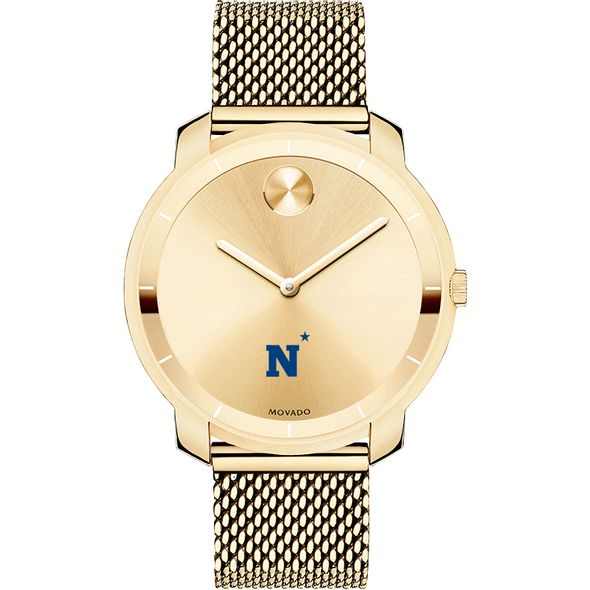 US Naval Academy Women's Movado Gold Bold 36 - Image 2