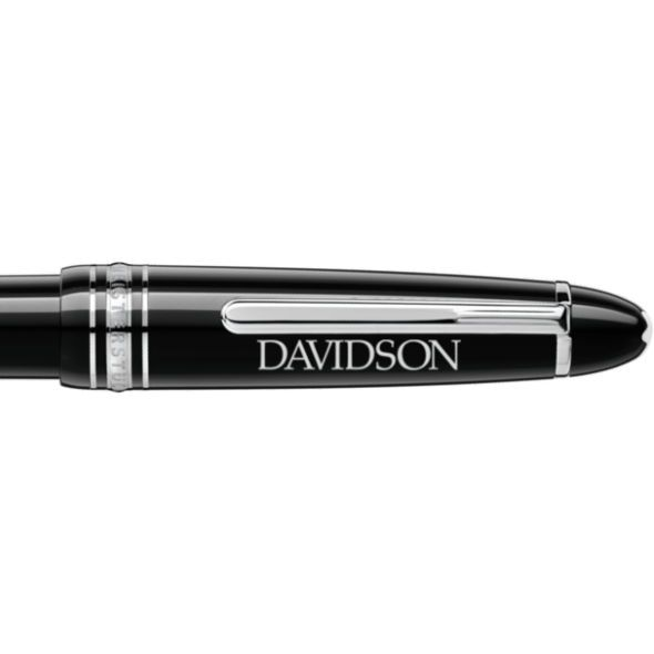 Davidson College Montblanc Meisterstück LeGrand Ballpoint Pen in Platinum - Image 2