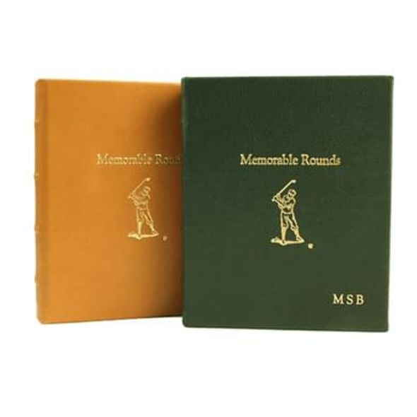 Memorable Rounds Golf Book