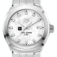 NYU Stern TAG Heuer Diamond Dial LINK for Women