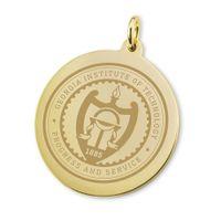 Georgia Tech 14K Gold Charm