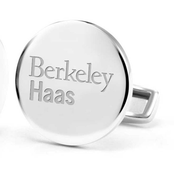 Berkeley Haas Cufflinks in Sterling Silver - Image 2