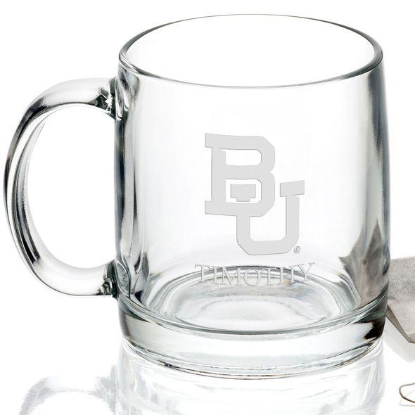 Baylor University 13 oz Glass Coffee Mug - Image 2
