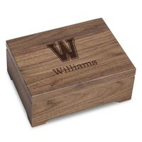 Williams College Solid Walnut Desk Box