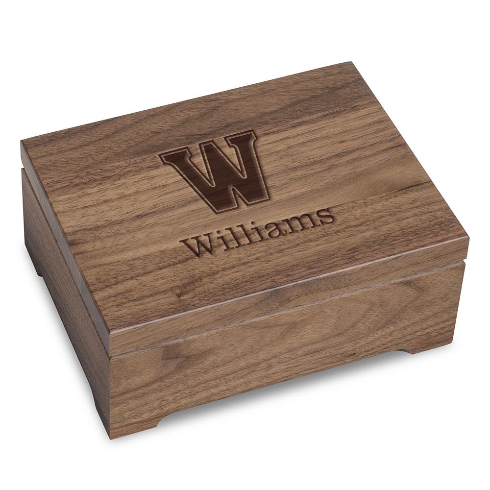 Williams College Solid Walnut Desk Box