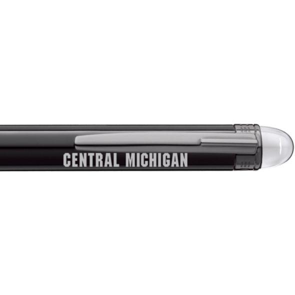 Central Michigan Montblanc StarWalker Ballpoint Pen in Ruthenium - Image 2