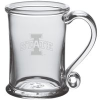 Iowa State University Glass Tankard by Simon Pearce