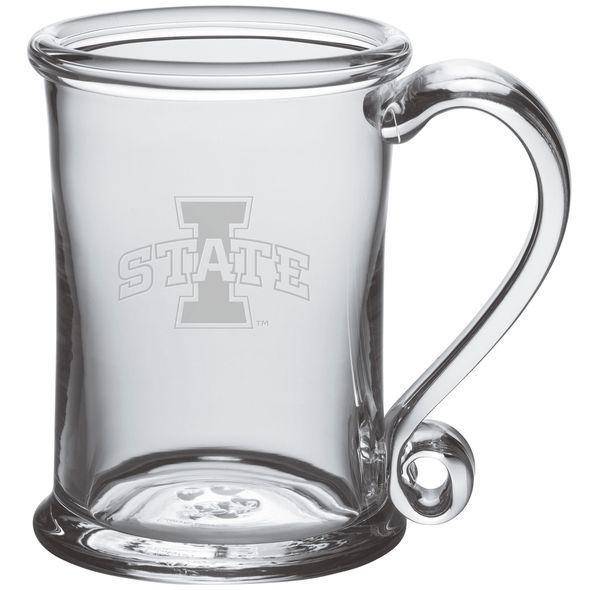 Iowa State University Glass Tankard by Simon Pearce
