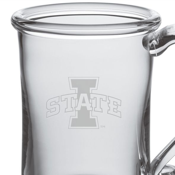 Iowa State University Glass Tankard by Simon Pearce - Image 2