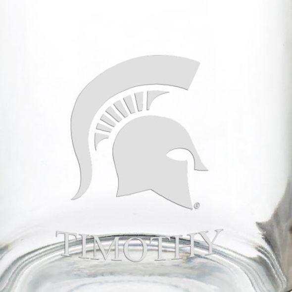 Michigan State University 13 oz Glass Coffee Mug - Image 3