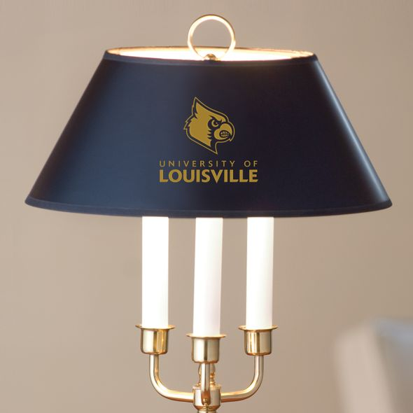 University of Louisville Lamp in Brass & Marble - Image 2