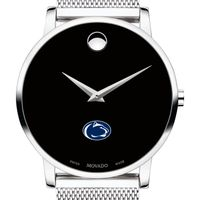 Penn State University Men's Movado Museum with Mesh Bracelet