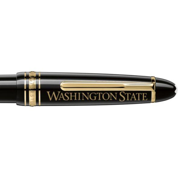 Washington State University Montblanc Meisterstück LeGrand Ballpoint Pen in Gold - Image 2