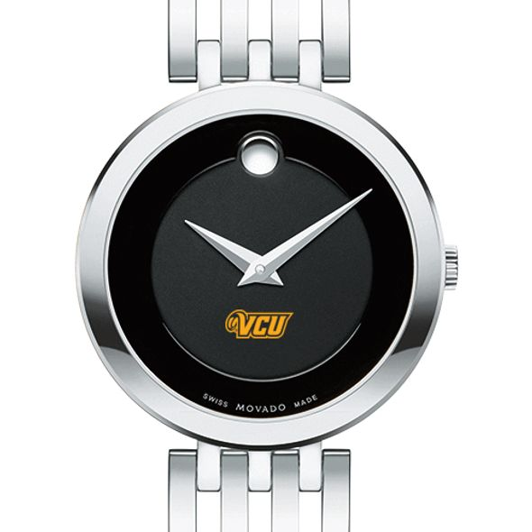 Virginia Commonwealth University Women's Movado Esparanza Stainless Steel Museum with Bracelet