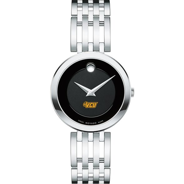 Virginia Commonwealth University Women's Movado Esparanza Stainless Steel Museum with Bracelet - Image 2