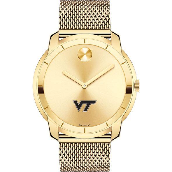 Virginia Tech Men's Movado Gold Bold 44 - Image 2