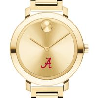 University of Alabama Women's Movado Gold Bold 34