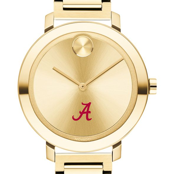 University of Alabama Women's Movado Gold Bold 34
