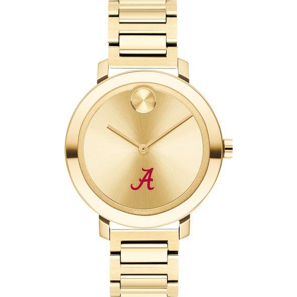 University of Alabama Women's Movado Gold Bold 34 - Image 2