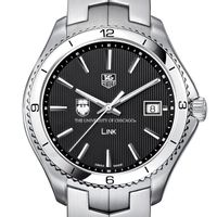 Chicago TAG Heuer Men's Link Watch with Black Dial