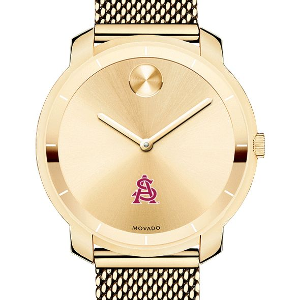 Arizona State Women's Movado Gold Bold 36