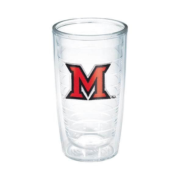 Miami University 16 oz. Tervis Tumblers - Set of 4