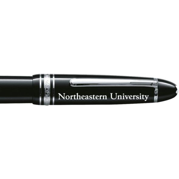 Northeastern Montblanc Meisterstück LeGrand Rollerball Pen in Platinum - Image 2