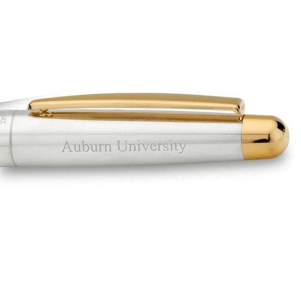 Auburn University Fountain Pen in Sterling Silver with Gold Trim - Image 2