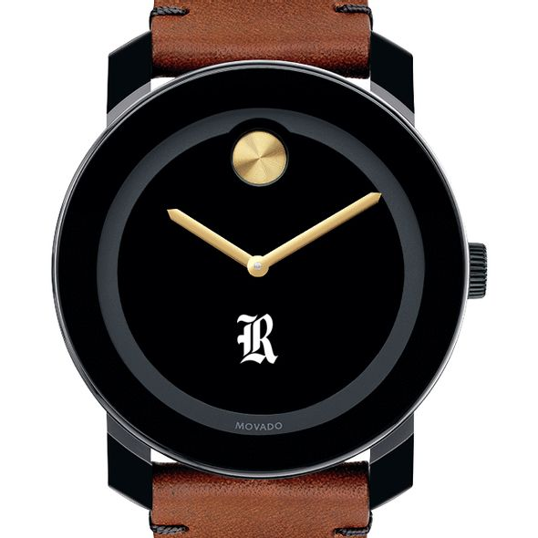 Rice University Men's Movado BOLD with Brown Leather Strap - Image 1