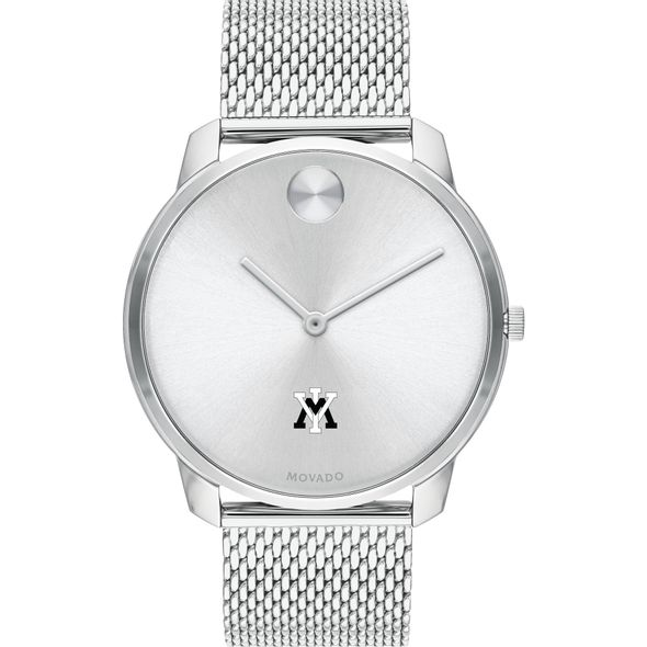Virginia Military Institute Men's Movado Stainless Bold 42 - Image 2