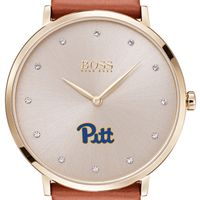 Pitt Women's BOSS Champagne with Leather from M.LaHart