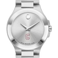 Charleston Women's Movado Collection Stainless Steel Watch with Silver Dial