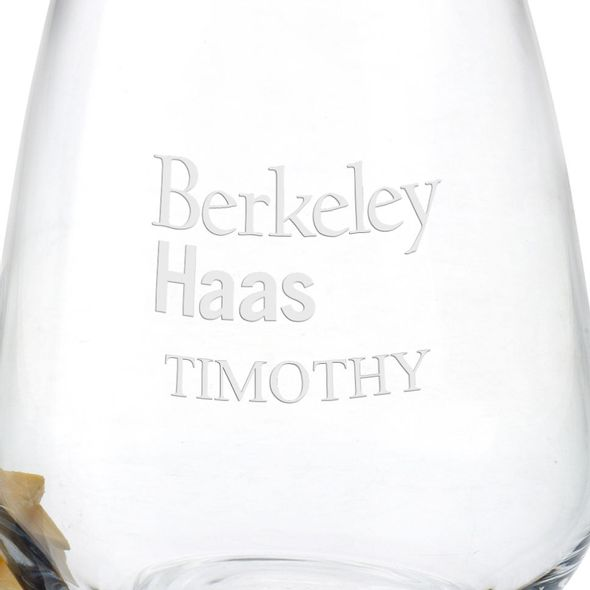 Berkeley Haas Stemless Wine Glasses - Set of 2 - Image 3