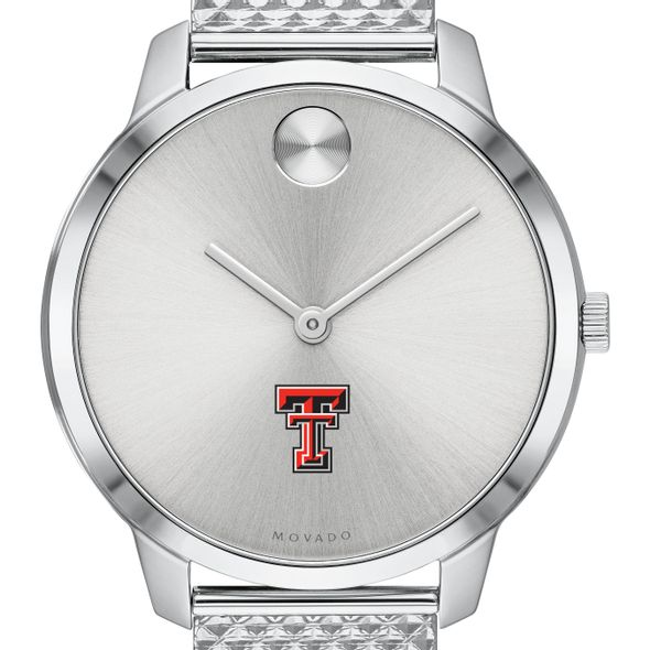 Texas Tech Women's Movado Stainless Bold 35