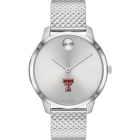 Texas Tech Women's Movado Stainless Bold 35 - Image 2