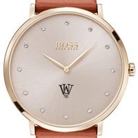 WUSTL Women's BOSS Champagne with Leather from M.LaHart