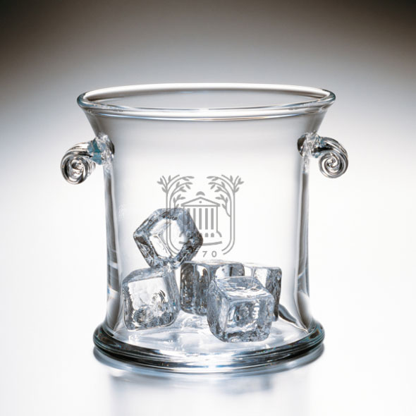 College of Charleston Glass Ice Bucket by Simon Pearce