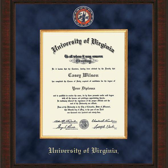 UVA Excelsior Diploma Frame - Image 2