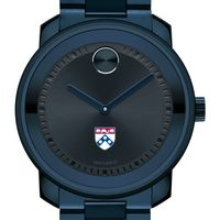 University of Pennsylvania Men's Movado BOLD Blue Ion with Bracelet