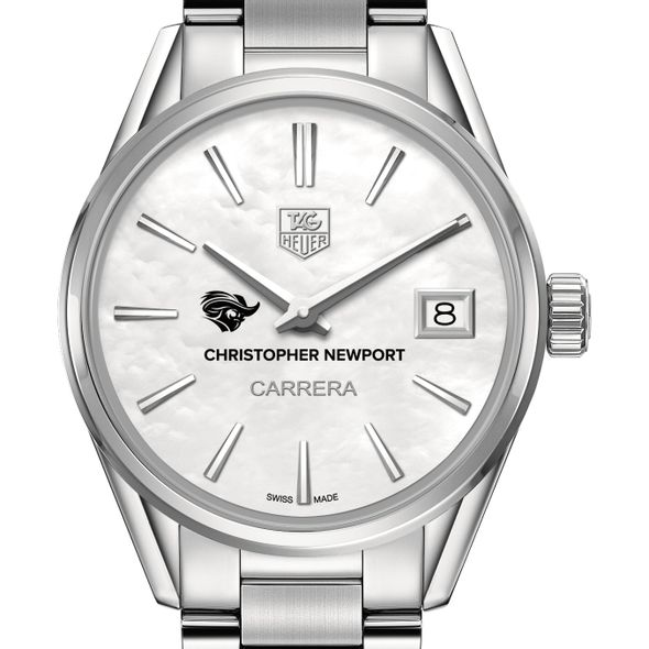 Christopher Newport University Women's TAG Heuer Steel Carrera with MOP Dial