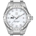 MIT W's TAG Heuer Steel Aquaracer with MOP Dia Dial & Bezel - Image 1