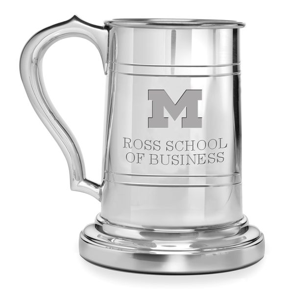 Michigan Ross Pewter Stein - Image 1