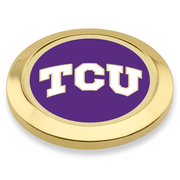 Texas Christian University Enamel Blazer Buttons - Image 1