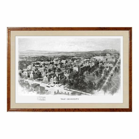 Historic Yale University Black and White Print