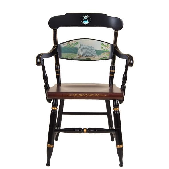 Hand-painted US Air Force Academy Campus Chair by Hitchcock